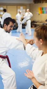 Teen Adult Karate Taekwondo